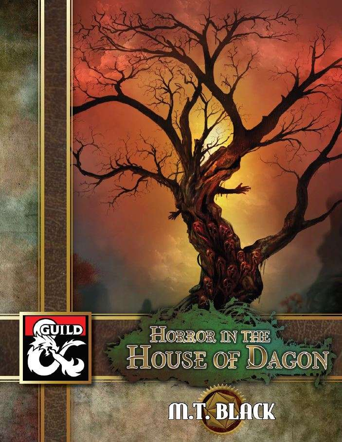 Cover of Horror in the House of Dagon