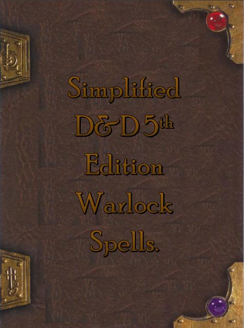 Warlock Spells E - 0425