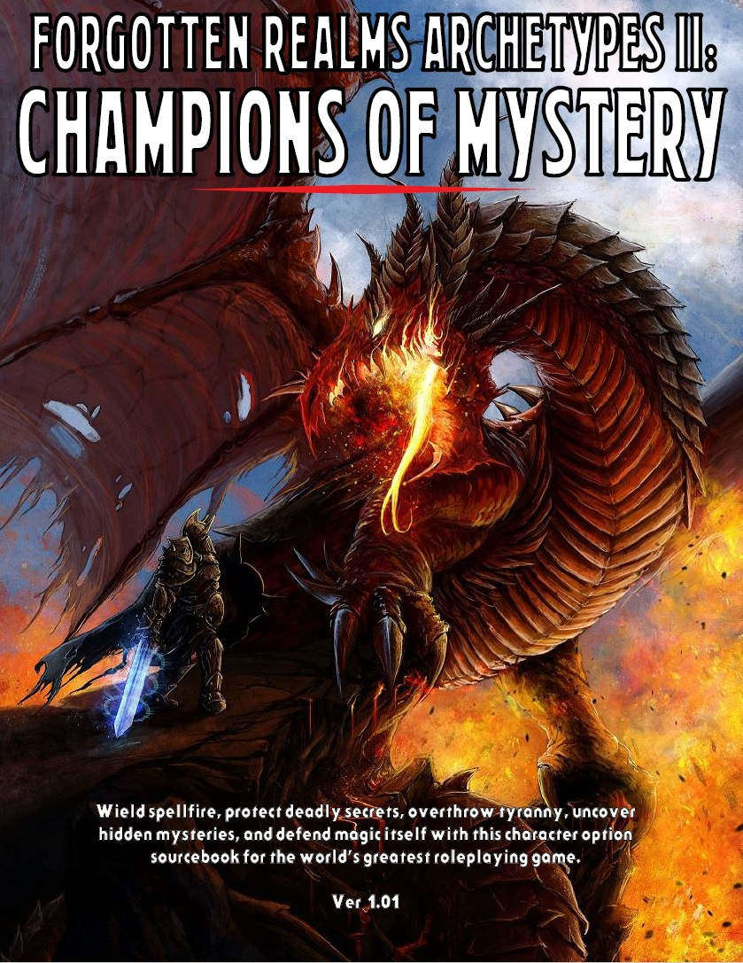 Forgotten Realms Archetypes II: Champions of Mystery