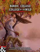 Bardic College: College of the Wild