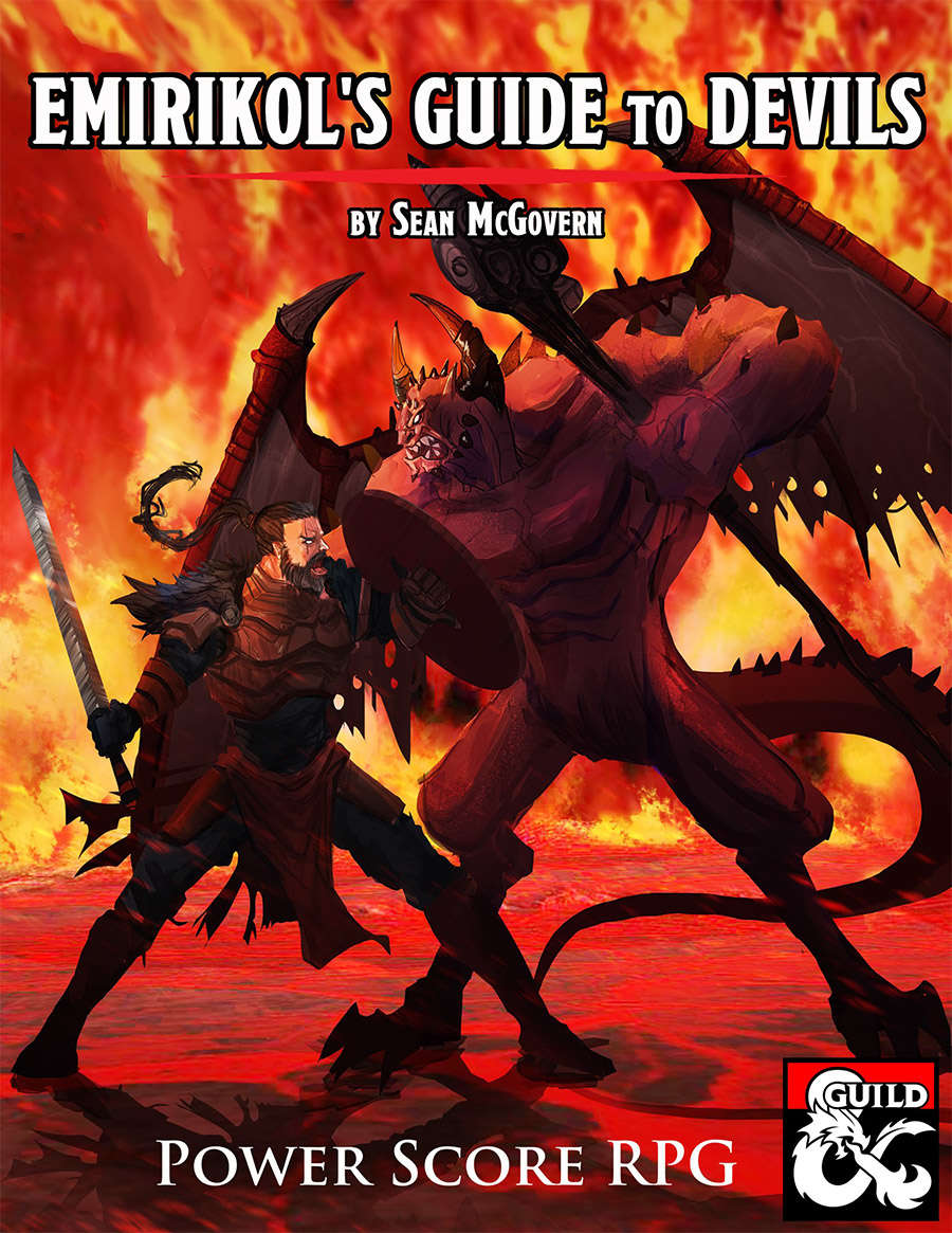 Emirikol's Guide to Devils - Dungeon Masters Guild | Dungeon Masters Guild