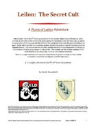 Leilon: The Secret Cult