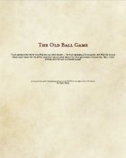 The Old Ball Game: A D&D Baseball Adventure