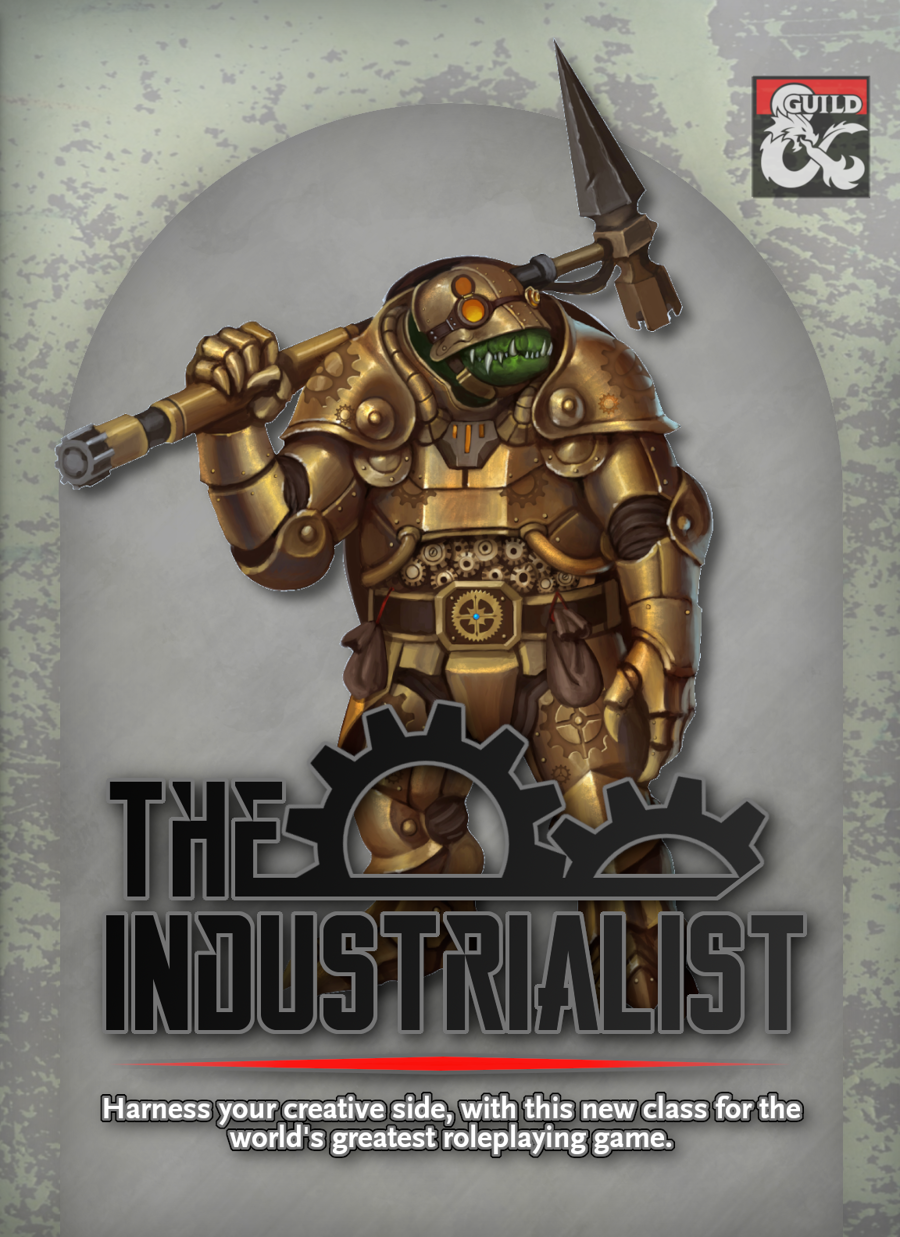 {B5} Industrialist - 5e Class - Dungeon Masters Guild | Dungeon Masters  Guild
