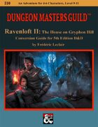 RAVENLOFT II: Conversion Guide