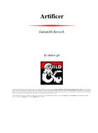 Artificer: Gunsmith Rework
