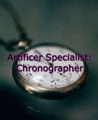 Artificer Specialist Chronographer