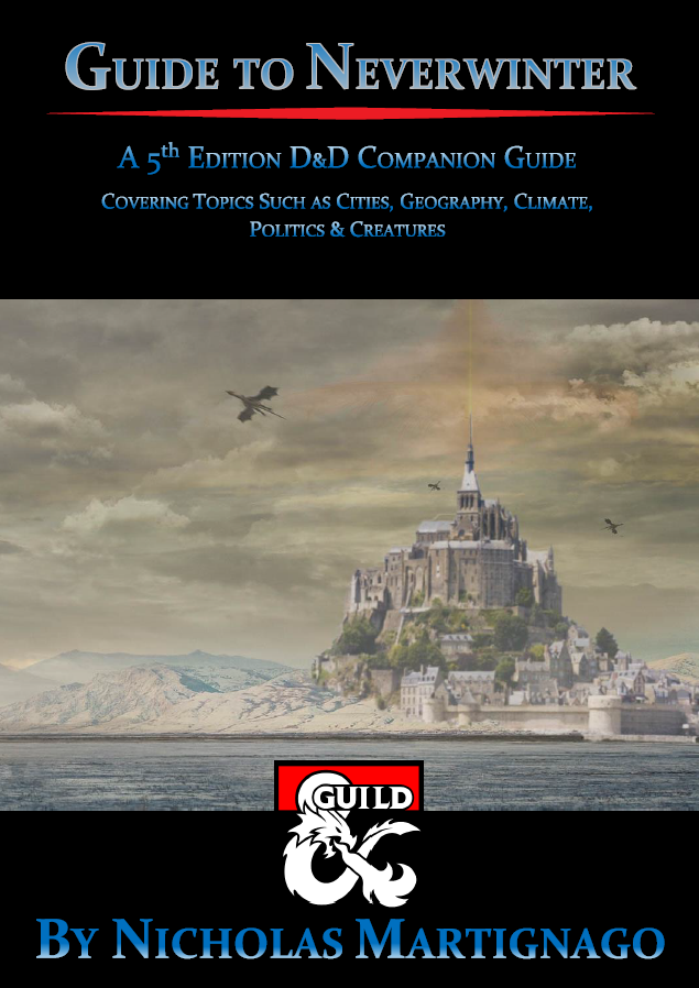 Companion Guide to Neverwinter - Dungeon Masters Guild | Dungeon