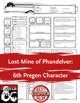 Lost Mine of Phandelver: 6th Pregen Character