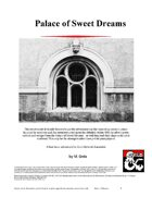 Palace of Sweet Dreams