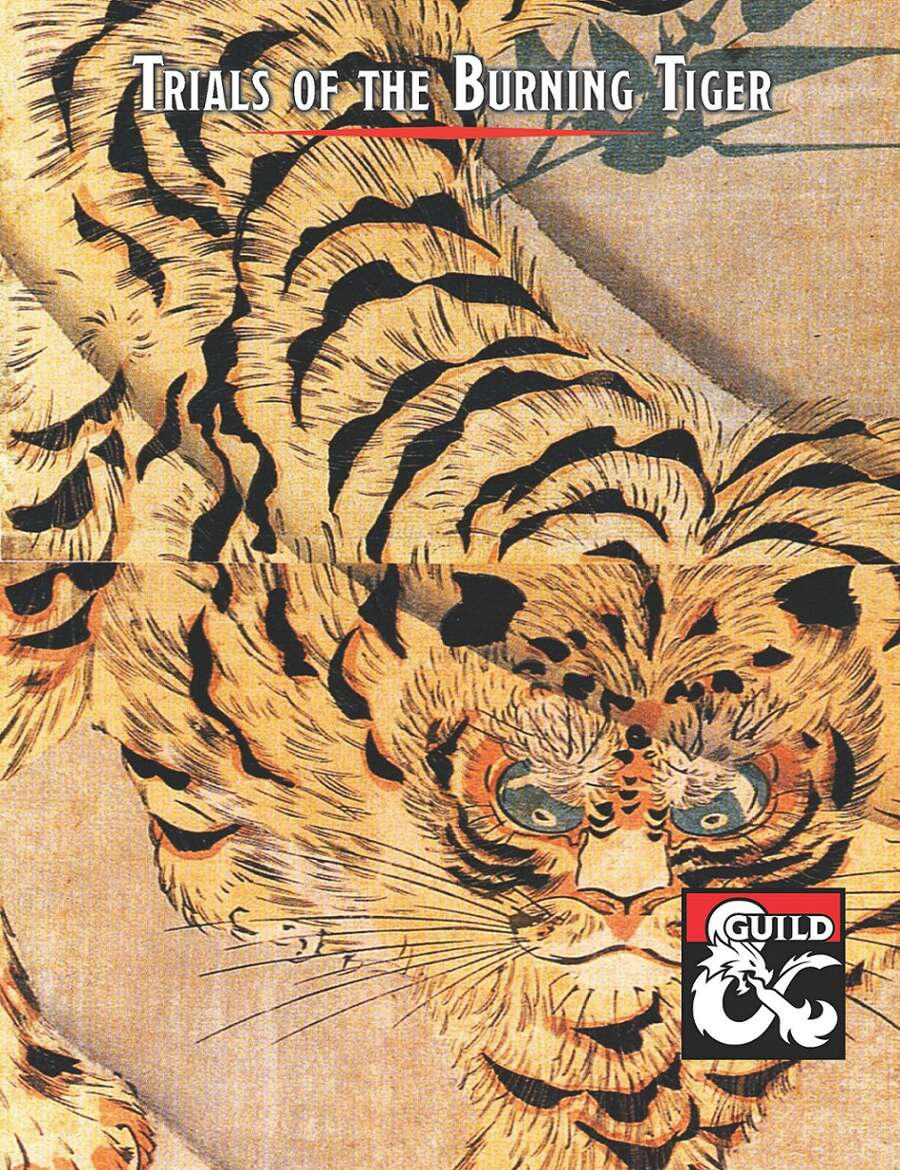 Cover of Trials of the Burning Tiger