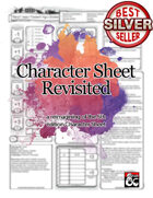 5e Character Sheet: Revisited - Dungeon Masters Guild | Wargame Vault