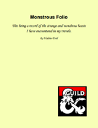 Walther Evid's Monster Folio