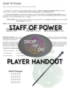 5e Handout: Staff of Power