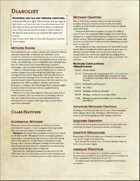 Fighter - Diabolist (5e)