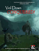 Cover of Veil Down Conquered (Free Preview Edition)