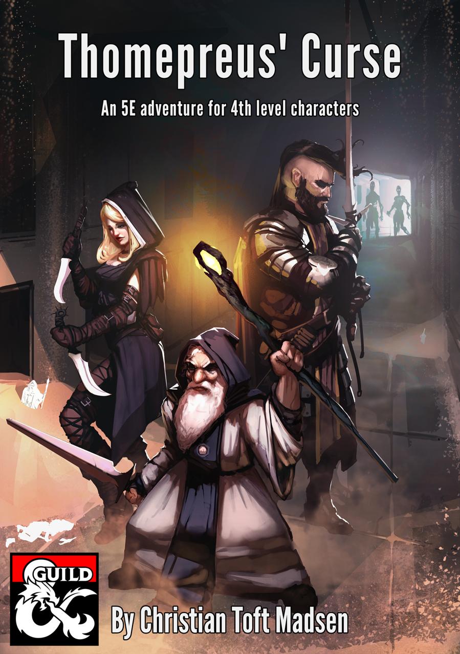 Cover of Thomepreus' Curse