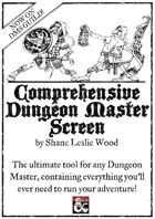 Comprehensive Dungeon Master Screen