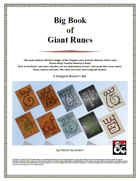 Big Book of Giant Runes