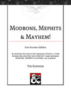 Modrons, Mephits & Mayhem (Free Preview Edition): A Dungeoncrawl Adventure for Levels 4-6