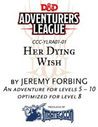 CCC-YLRA01-01 Her Dying Wish