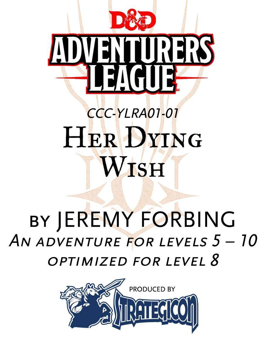Cover of Her Dying Wish