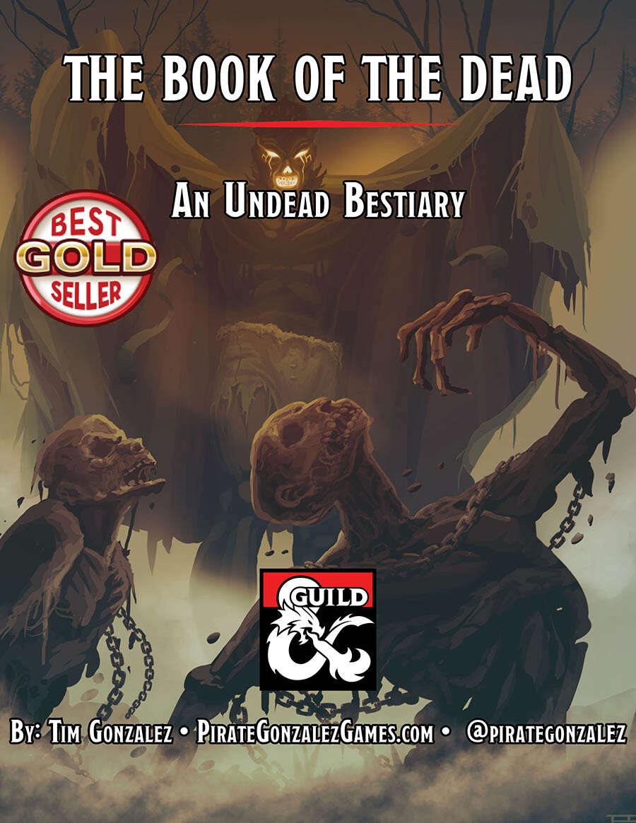 The Book of the Dead: An Undead Bestiary - Dungeon Masters Guild   Dungeon  Masters Guild