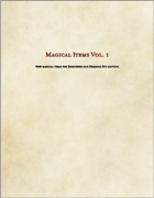 Magic Items Vol.1