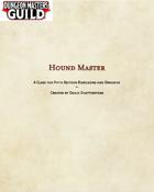 Hound Master-5e Class