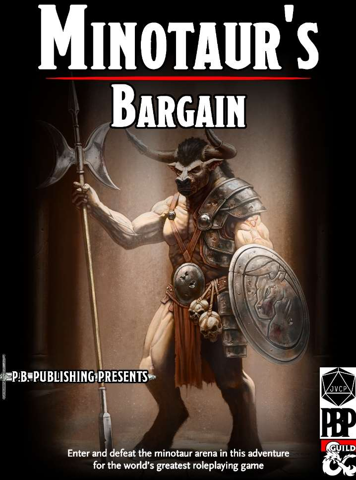 Minotaur's Bane - Dungeon Masters Guild | Dungeon Masters Guild