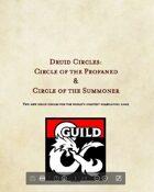Druid Circles: Circle of the Profaned & Circle of the Summoner