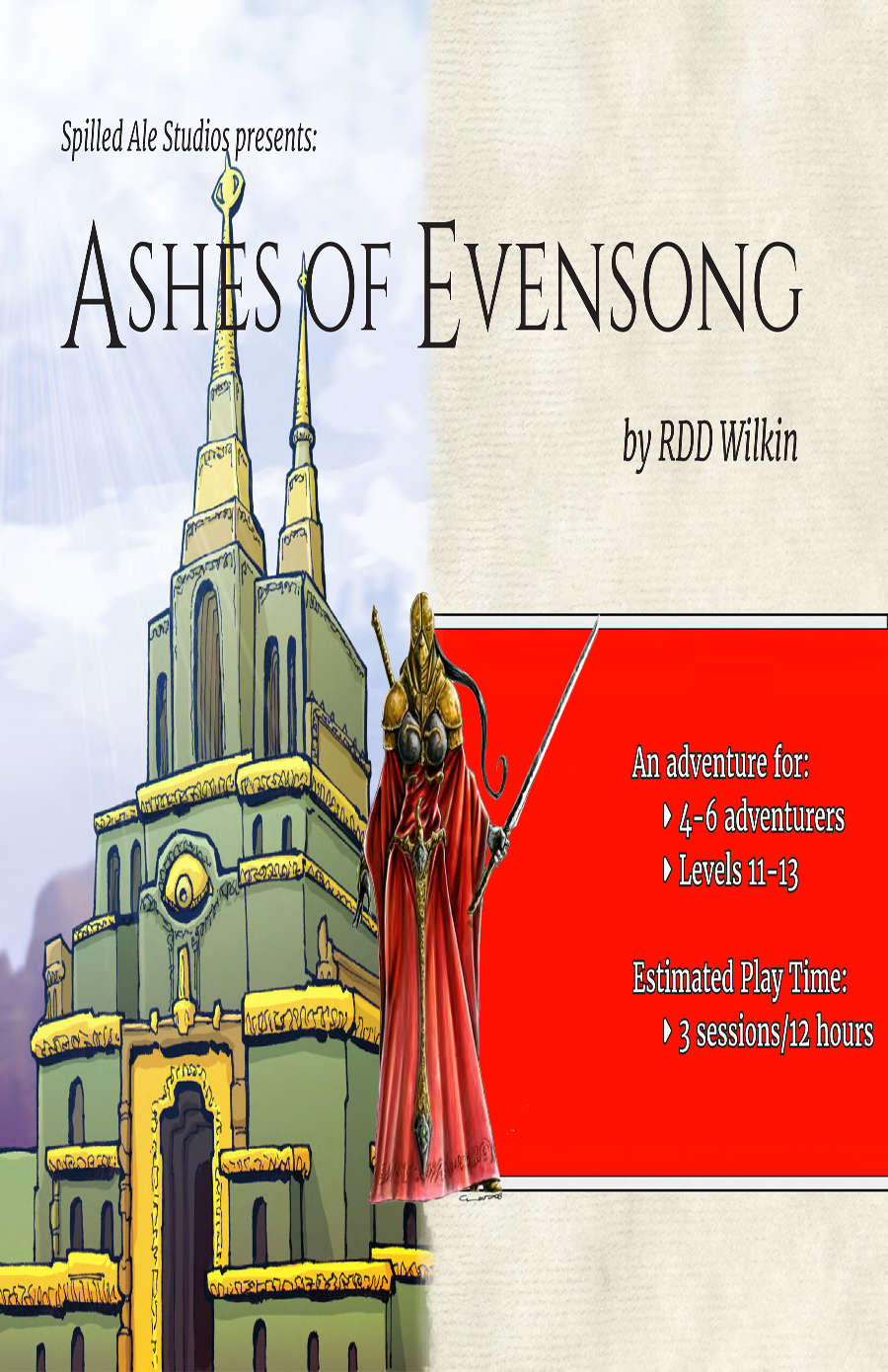 Cover of Ashes of Evensong