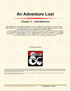 An Adventure Lost - Chapter 3