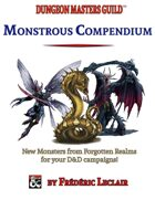 Monstrous Compendium - Forgotten Realm (from A-F)
