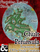 Chult Peninsula - Forgotten Realms Stock Maps