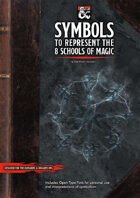 Symbols to Represent the 8 Schools of Magic