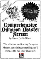 Comprehensive Dungeon Master Screen - Portrait Orientation