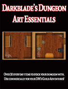 Darkblade's Dungeon Art Essentials