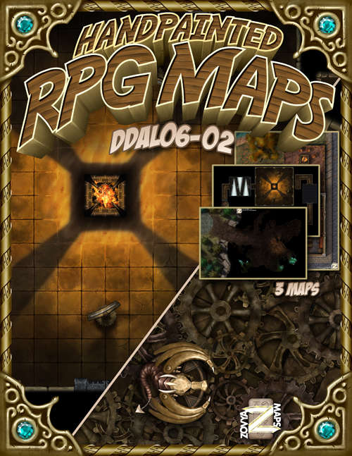 DDAL06-02 Epic Map pack for The Redemption of Kelvan - Dungeon Masters  Guild | Dungeon Masters Guild