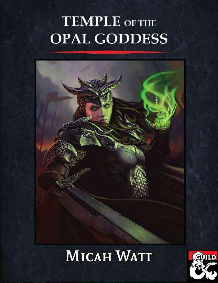 Cover of Temple of the Opal Goddess
