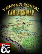 Yawning Portal Campaign Map