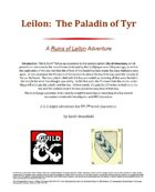 Leilon: The Paladin of Tyr