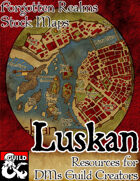 Luskan - Forgotten Realms Stock Maps