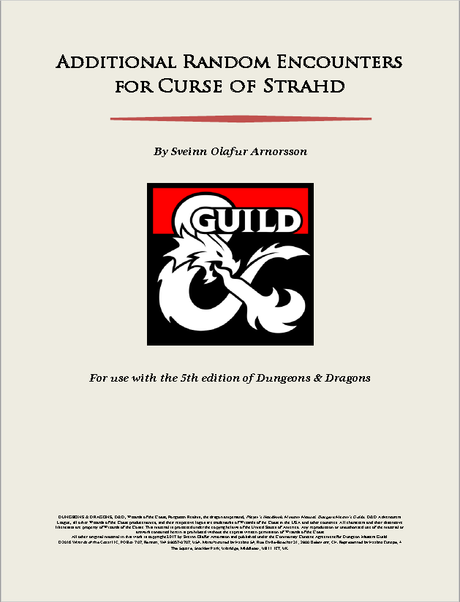 d&d curse of strahd pdf