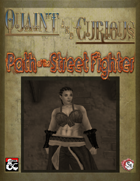 Path of the Street Fighter - Urban Barbarian Path (5e)