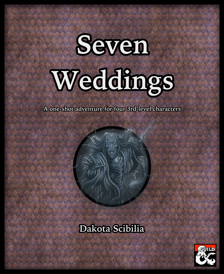 Cover of Seven Weddings