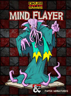 Mind Flayer Paper Miniatures