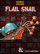 Flail Snail Paper Miniatures
