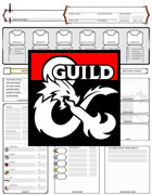 5e Fighter Character Sheet