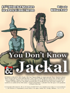 You Don't Know Jackal